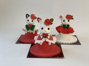 シルバニアファミリーシュガーアートドールケーキ